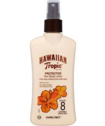HAWAIIAN TROPIC SENSITIVE SUN LOTION New 200ml FPS8